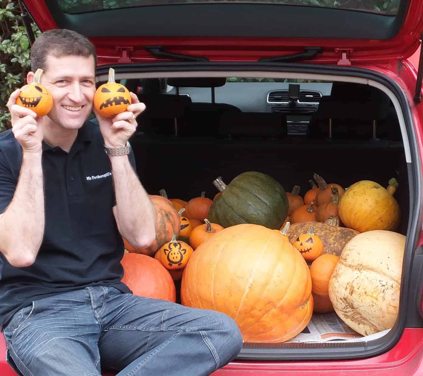 Photo of Fothergill's to the rescue – easy as pumpkin pie.