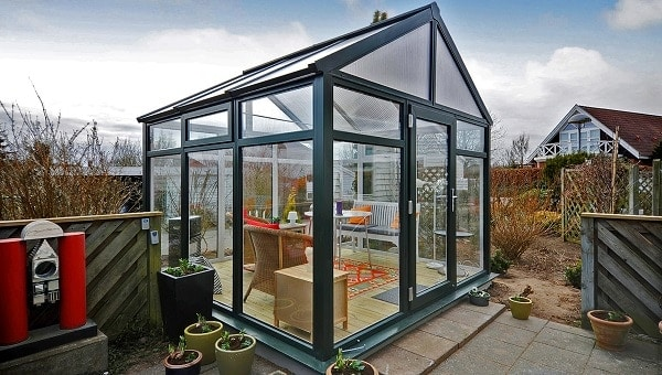 Photo of Affordable Orangerie from Nordic perfect for small gardens
