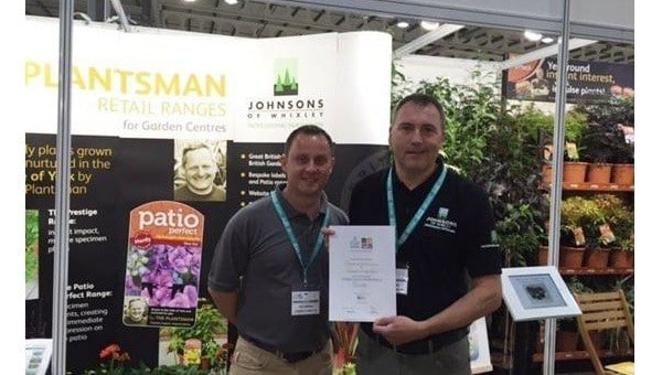 Photo of Johnsons of Whixley wins Silver medal at National Plant Show