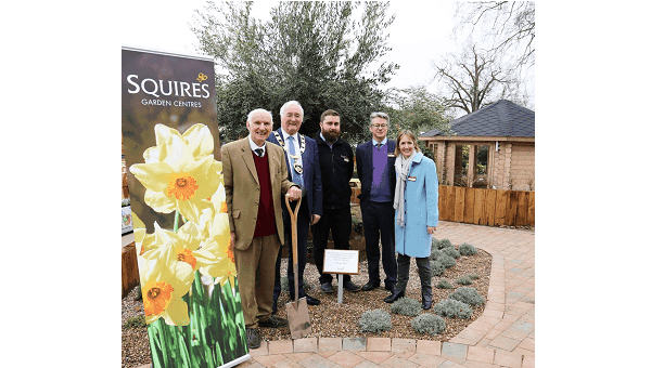 Photo of Squires garden centre in Chertsey officially opens