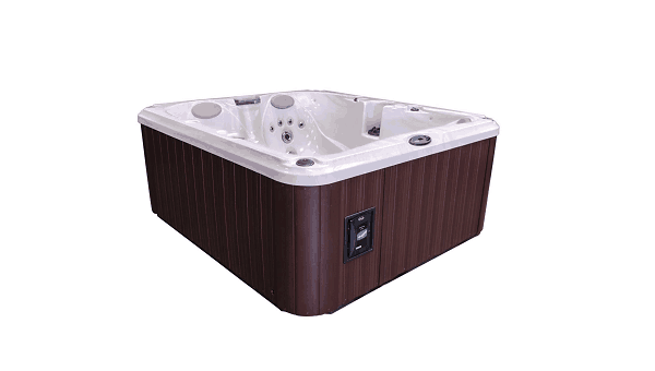 Photo of Jacuzzi hot tubs stolen from Shenstone Garden Centre