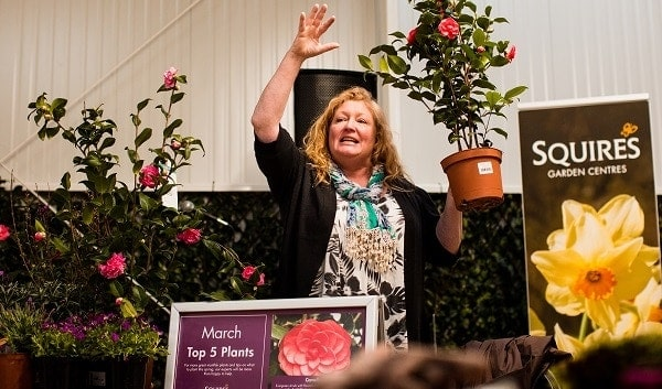 Photo of Charlie Dimmock Opens Squire?s in Woking