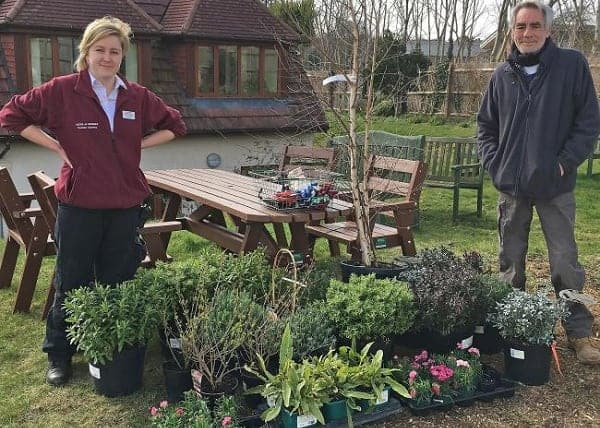 Photo of Garden centre gifts ?650 worth of plants to the Martlets Hospice