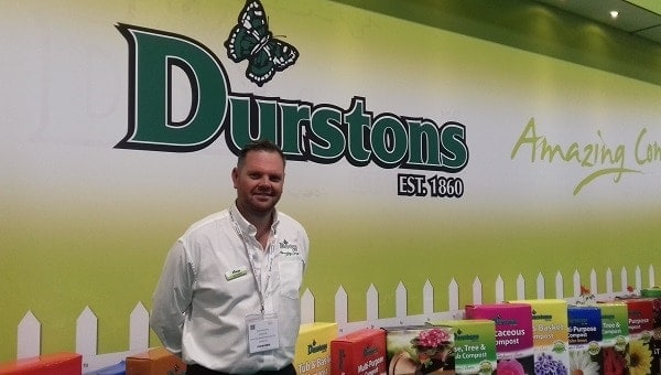 Photo of Dan Durston of Durston Garden Products takes up GIMA Council position