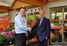 Photo of Squires Garden Centre in Frensham chooses local charity to support