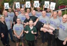 Photo of Stewarts Garden Centre Brave The Shave Team Raises ?5k
