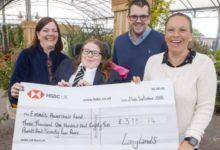 Photo of Langlands Garden Centre helps Emma reach fundraising target