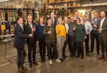 Photo of Smiemans Projecten toasts year with 5 new recruits