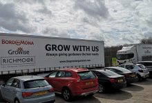 Photo of Bord na Mona launches first fleet of branded lorries in the UK