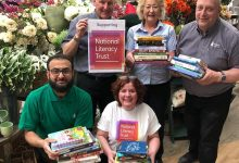 Photo of Literacy project nominated as Tong Garden Centre Charity of the Year