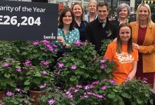 Photo of Bents raises £26k for 2018 charity of the year