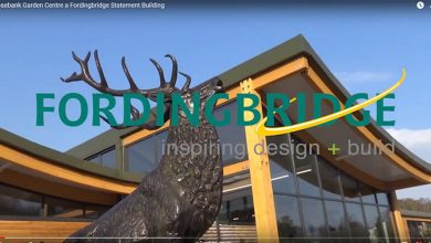 Photo of Video: Fordingbridge statement building at Rosebank Garden Centre