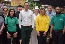 Neil and the Tong Garden Centre team