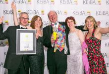 Photo of Coolings collects award at the KEiBAs