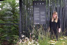 Photo of Chelsea garden is rebuilt at Tong Garden Centre