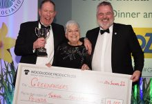 Photo of Greenfingers bags £12k raised 'Orse racin' at GCA Conference