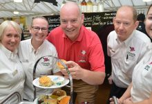 Photo of Stewarts Garden Centres promotes catering manager