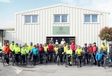 Photo of Woodworks Garden Centre Café wins award from cycling group