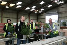 Photo of Johnsons Garden Centre Sales Division celebrates record-breaking year