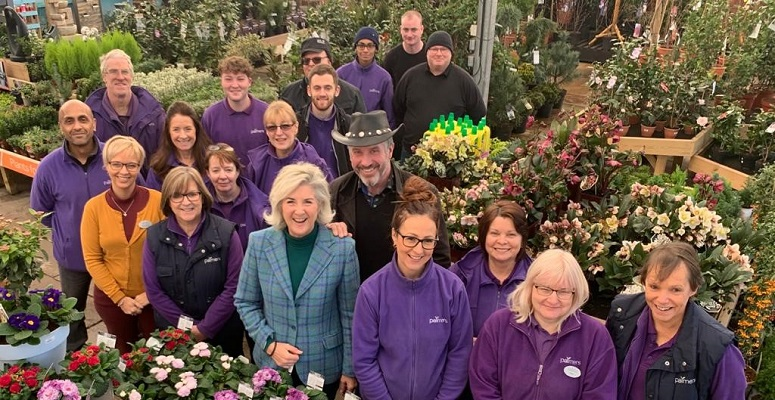 Photo of Palmers Garden Centre scoops family business award
