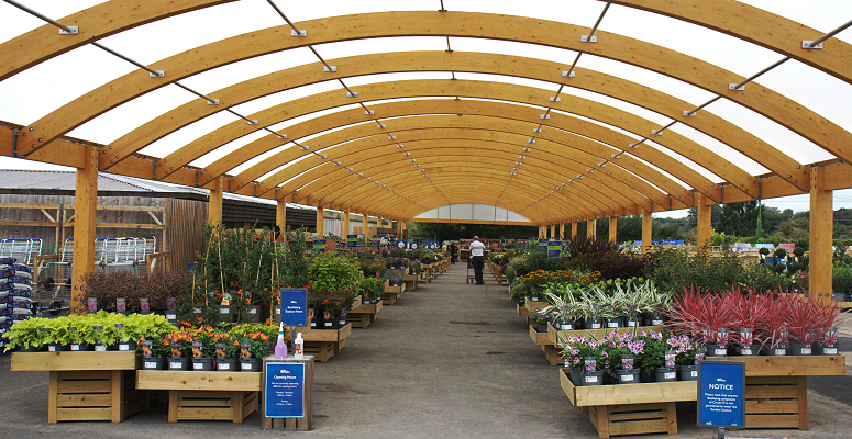 Photo of Transformation of Hillier Garden Centre Marlow is now complete