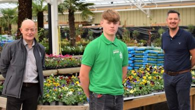 Photo of Bradford Garden Centre takes on first apprentice