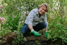 Photo of David Domoney partners with water garden supplier OASE
