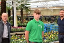 Photo of Tong Garden Centre takes on first apprentice