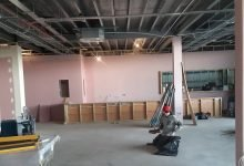 Photo of Restaurant work underway at Southend garden centre