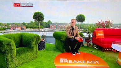 Photo of Local garden centre decorates BBC set
