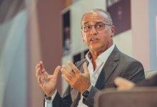 Photo of Theo Paphitis discusses 'hybrid retailing' at Autumn Fair