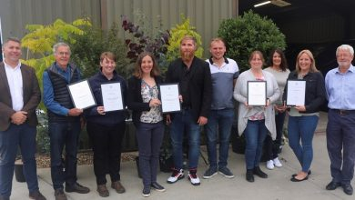 Photo of Record number of GCA members awarded Highly Commended certificates