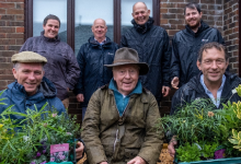 Photo of Poundbury Gardens supports surgery's memorial garden planting project